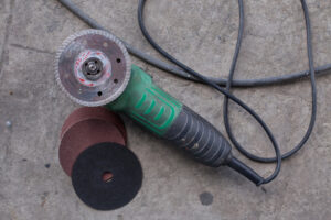 Concrete sander and grinder